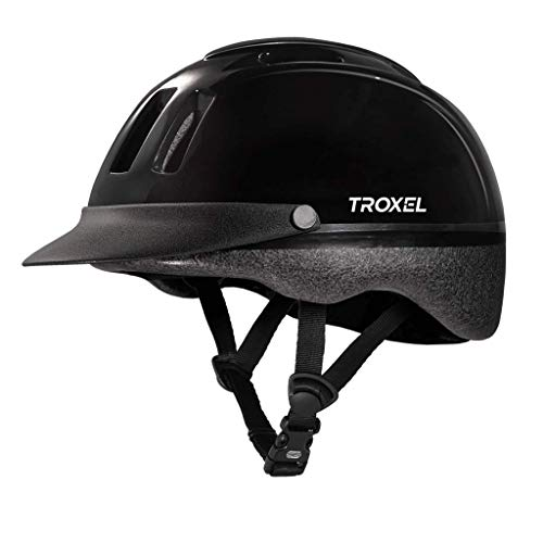 Troxel Sport Schooling Riding Safety Helmet SEI Certification and Colors (Black, Medium)