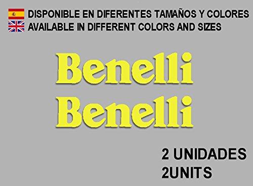 PEGATINAS STICKERS BENELLI F86 AUFKLEBER DECALS AUTOCOLLANTS ADESIVI (AMARILLO/YELLOW)