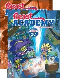 AoPS 2-Book Set : Art of Problem Solving Beast Academy 2C Guide and