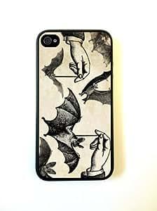 Dangling Bats Halloween iPhone 4 Case - For iPhone 4 4S 4G - Designer TPU Case Verizon AT&T Sprint