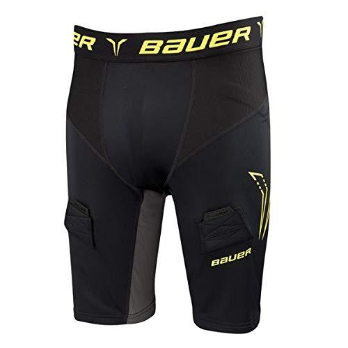 - Bauer Premium Core Jock Shorts S17 Black Size Adult Large
