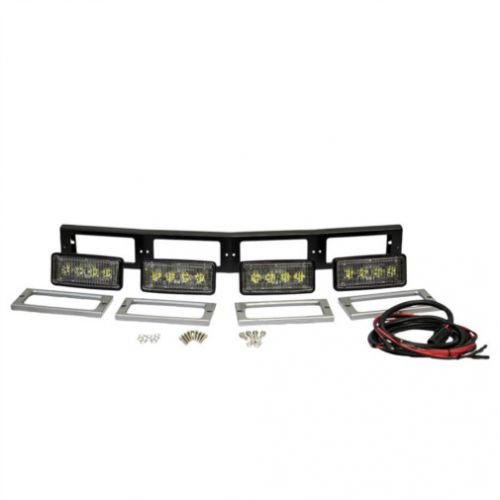 (All States Ag Parts LED Hood Conversion Light Kit - 4 Lights 80W Flood Beam Compatible with John Deere 4555 4555 4960 4960 4650 4650 4755 4755 4955 4955 4850 4850 4760 4760 4560 4560 RE577572)