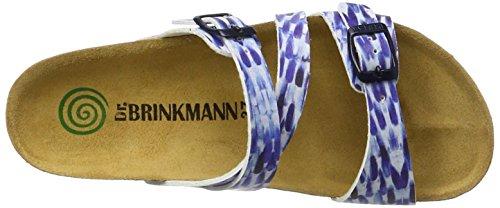 Dr. Brinkmann 700985 - Mules Mujer Azul