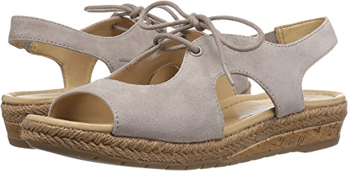 Naturalizer Women's Reilly Espadrille Sandal, Turtledove, 7.5 M (Naturalizer Wedge Shoes)