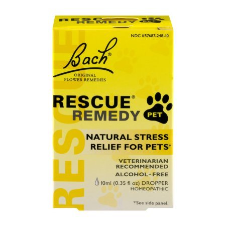 Pack of 4 - Bach Original Flower Remedies RESCUE Pet Remedy