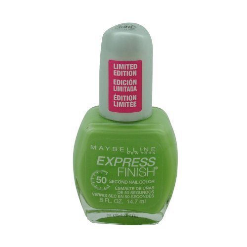Maybelline Express Finish 50 Second Nail Color #658 Go-Getter Green by MAYBELLINE