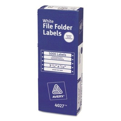 AVE4027 - Avery Dot Matrix File Folder -