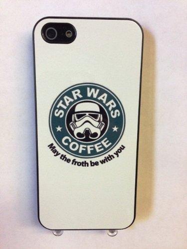 (715bi4) Star Wars Coffee iPhone 4 /4S Black Case