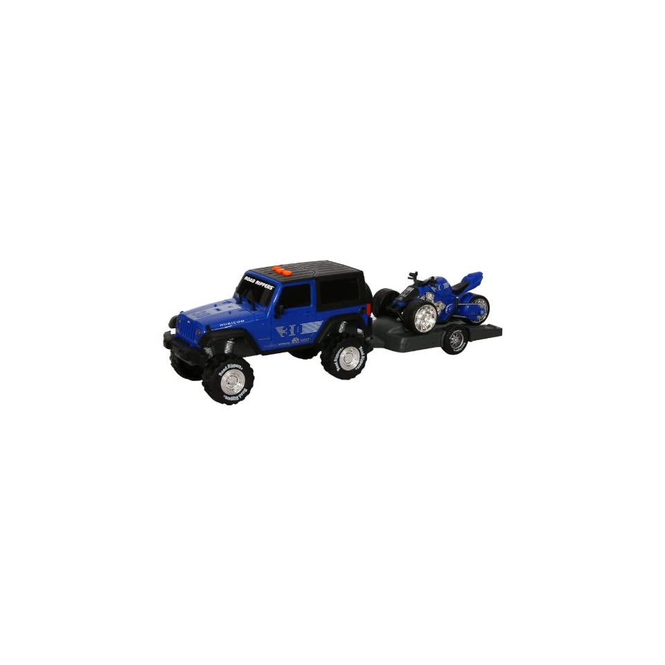 Toystate Road Rippers Light And Sound Sport Trailer With Vehicle