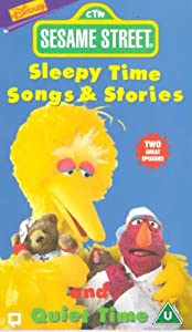 sesame street sleepy time songs and stories quiet time