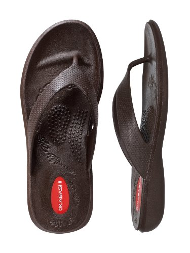 Flops Flip Okabashi Brown Women's Sandals Maui nax4xB