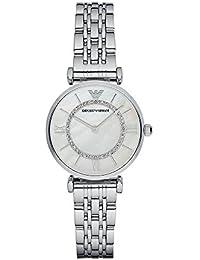 Womens AR1908 Retro Silver Watch