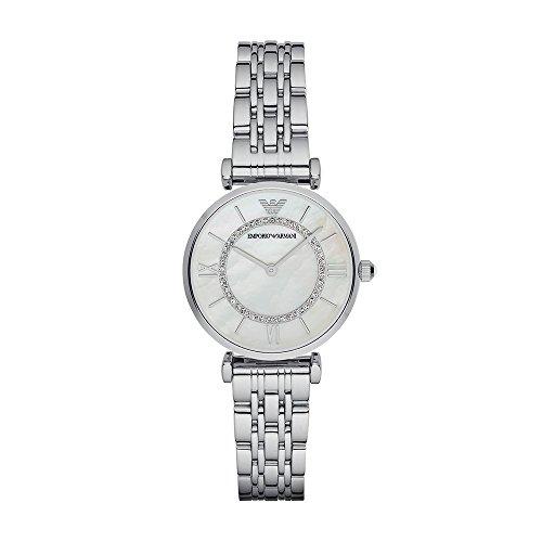 Emporio Armani Women's AR1908 Retro Silver Watch