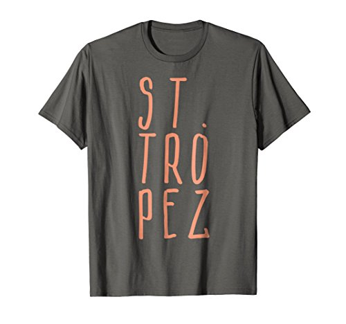 St. Tropez French Cote d'Azur Beach Vacation Travel T-Shirt