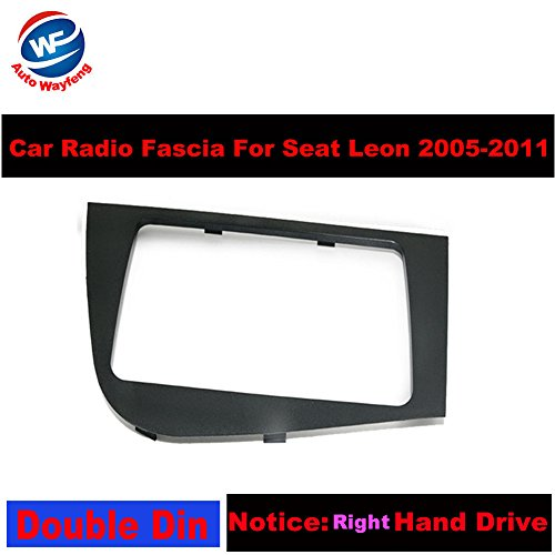Auto Wayfeng WF Double 2 DIN Car Stereo Radio Head Unit GPS Navigation plate panel Frame Fascias for 2005-2011 Seat Leon Left Right Hand Driving - Right Hand Drive