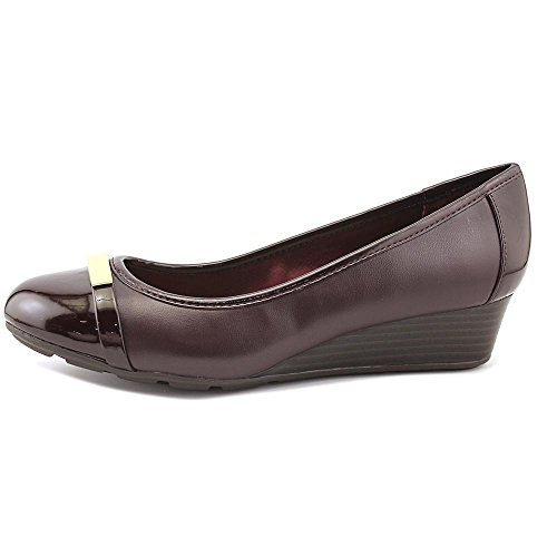 Compensés Bernini Giani Talons Synthétique Oxblood Ambir wRwUd4x