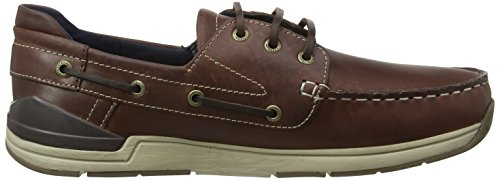 Brown 000 Barca Beacon Scarpe da Marrone Chatham Uomo Dark SwZRqH