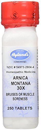Hylands Homeopathic Arnica Montana 30X Tablets, 250 Count (250 Tab Montana Arnica)