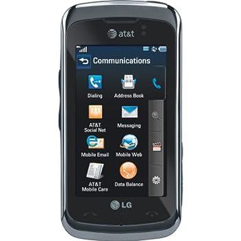amazon com lg encore prepaid gophone at t cell phones accessories rh amazon com