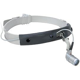 HEINE LED MicroLight Headlight with Headband, mPack LL Battery Pack, Transformer & Case #J-008.31.295