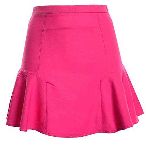 Jupe Femme Stretch Fishtail Rose Jupe Mini Plisse Short Patineuse pqqx5Z4B