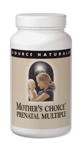 Source Naturals Mothers Choice Prenatal Multiple, 60 Tablets & 15 Softgels