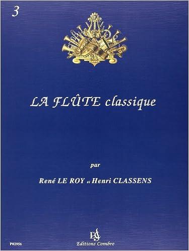 La Flûte classique vol.3 pdf, epub