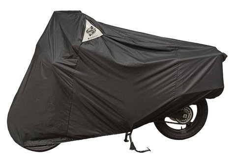 DOWCO Guardian WeatherAll Plus Motorcycle Cover (BLACK) (Plus Cover Motorcycle Weatherall)