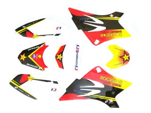 DE38 TTR GRAPHICS DECAL STICKERS KIT TTR50 TTR 50CC (Kit Ttr50 Graphic)
