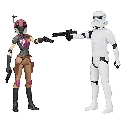 Star Wars Mission Series Figure Set (Sabine Wren and Stormtrooper) (Sabine Wren Action Figure)