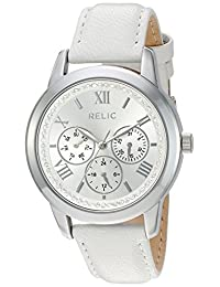 Relic Women's 'Kendall strap' Quartz Metal and Alloy Casual Watch, Color:Silver-Toned (Model: ZR15832)