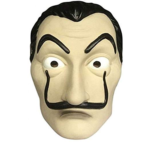 Homelix Dali Mask & Clothing Salvador LA CASA De Papel Money Heist Halloween Party Mask (Masks) by Homelix