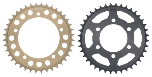 (Sunstar Steel Rear Sprocket - 42T , Sprocket Teeth: 42, Color: Natural, Sprocket Position: Rear, Sprocket Size: 525, Material: Steel 2-463342)