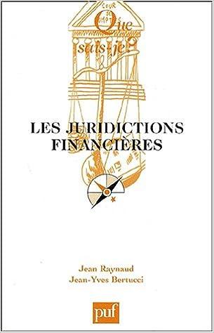 Lire en ligne Les Juridictions financières pdf, epub
