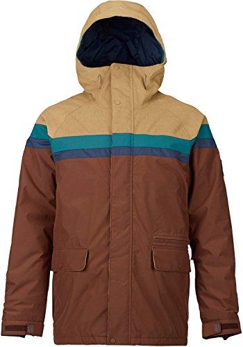 (Burton Men's Docket Jacket, Kelp Cord/Jasper/Mood Indigo/Chestnut, X-Large)