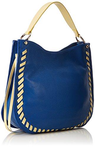 A 8701 blu Blu Borsa Borse Giallo Tracolla Chicca Donna Giallo atq6PwxA