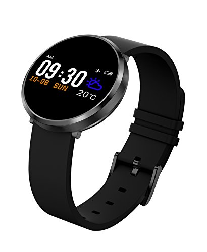 S3 Smart Watch Bluetooth Waterproof Fashion Women Ladies Heart Rate Monitor Smartwatch Relogio Inteligente For Android IOS (black) -