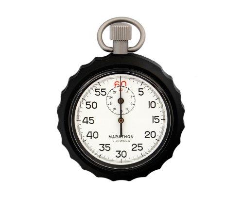 MARATHON ST194007 Single Action Mechanical Windup Analog Stopwatch (Mechanical Stopwatch)