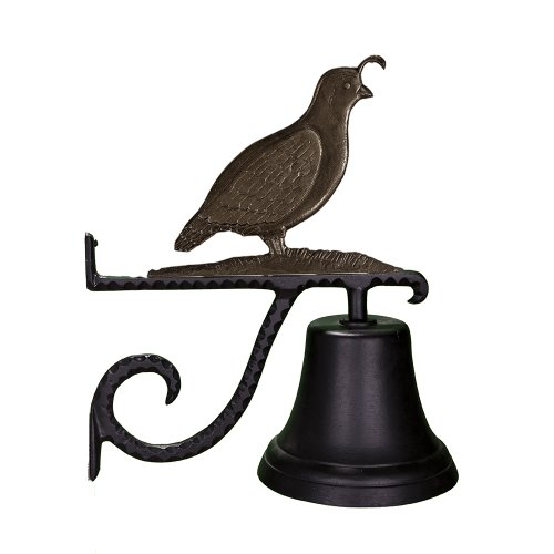 Montague Metal Products Cast Country Bell with Swedish Iron (Country Dinner Bell)
