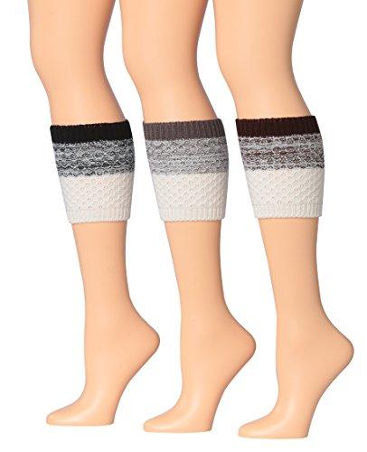 Two Tone Leg Warmers - 6