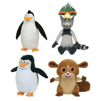 Skipper Rico Mort King Julien - Penguins of Madagascar
