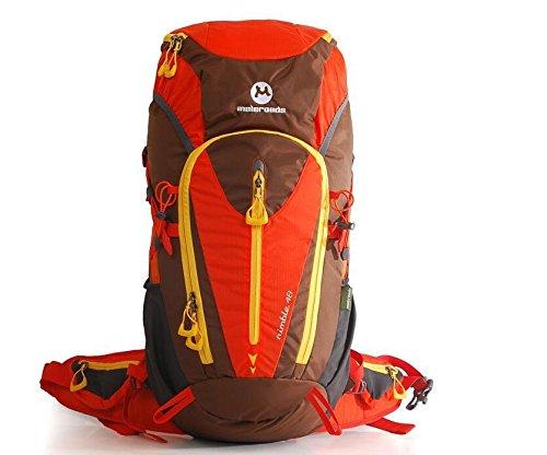 Outdoor-Bergsteigen Tasche Rucksack Umhängetaschen für Männer und Frauen auf Fuß Outdoor-camping-Ausrüstung 48L , green