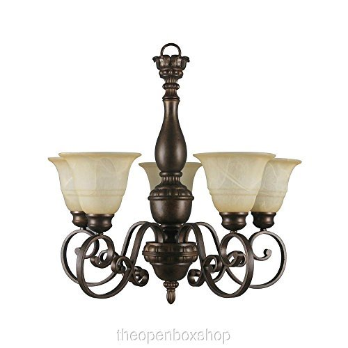Hampton Bay Carina 5 light (Bay Five Light Chandelier)