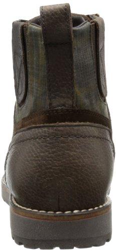 chestnut Cuero De A Marrón Braun Geox U Clásicas Hombre C6004 Highland Botas ZcB4q