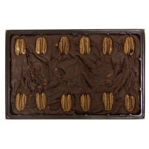 colate Pecan Fudge - 24 OZ Gift Box (Homemade Chocolate Pecan Fudge)