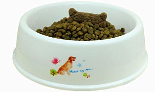 [Set Of 2 Pet Dog Cat Plastic Bowls For Large Pet XXL] (Link Dog Costumes)