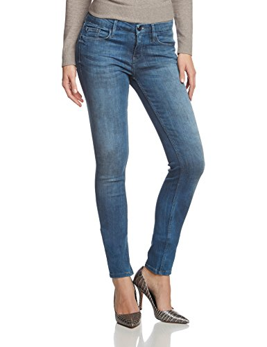 Calvin Klein Jeans Mid rise skinny ROBST - Vaquero skinny Mujer Blau (ROCKER BLUE STRETCH 428)