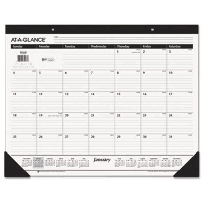 AAGSK2400 - At-a-Glance Recycled Desk Pad
