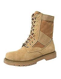Unisex retro leather Hiking , combat, timberland boots