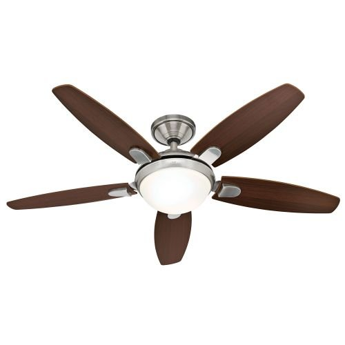 Hunter Contempo 52 In. Indoor Brushed Nickel Ceiling Fan